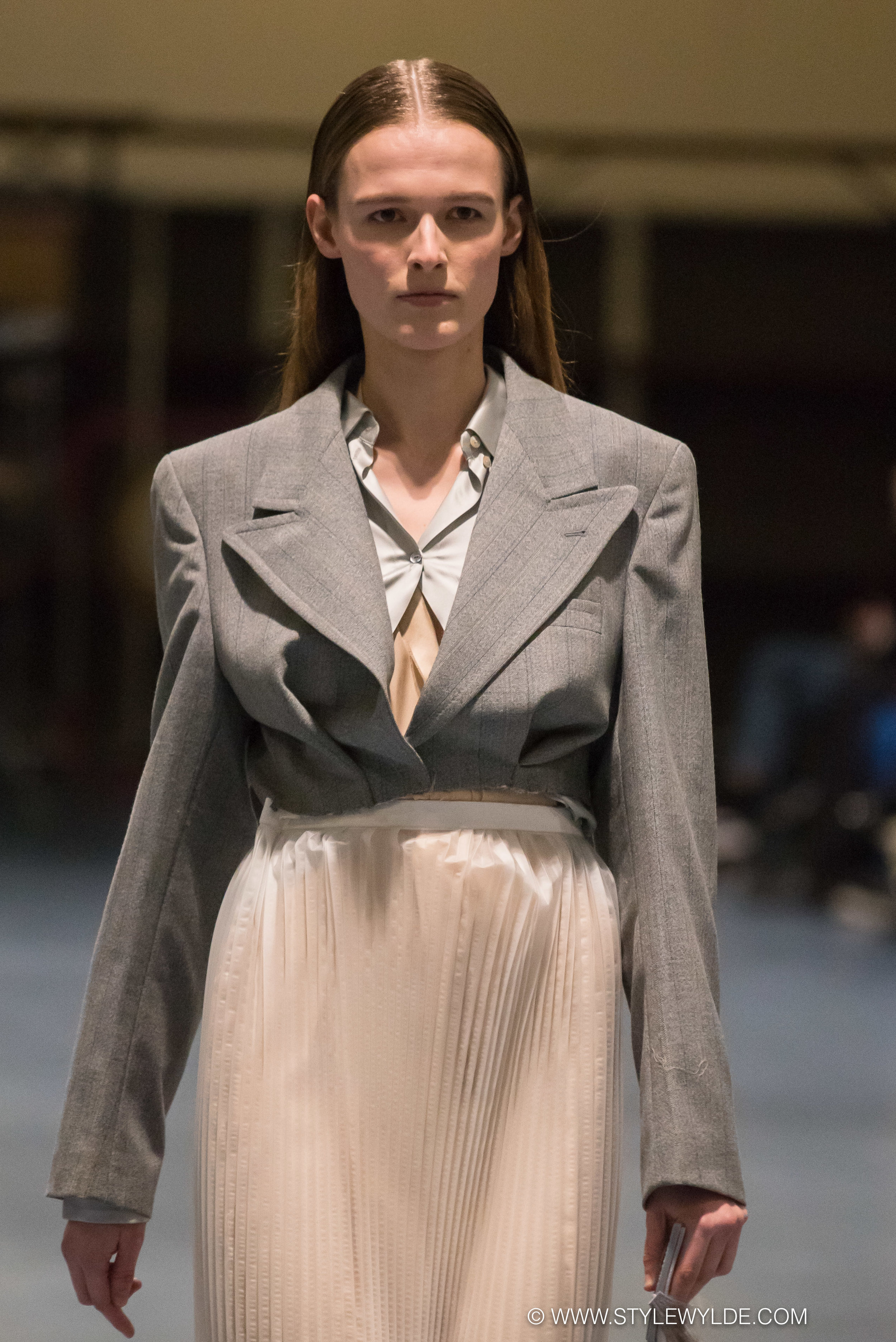 The shape of things - Known for her talent for both deconstruction and draping,designer Freya Dalsjø wowed the knowledgeable fashion crowd at her Fall 2018 show with an array of inventive pieces that challenged the viewer with new shapes and silhouettes.
