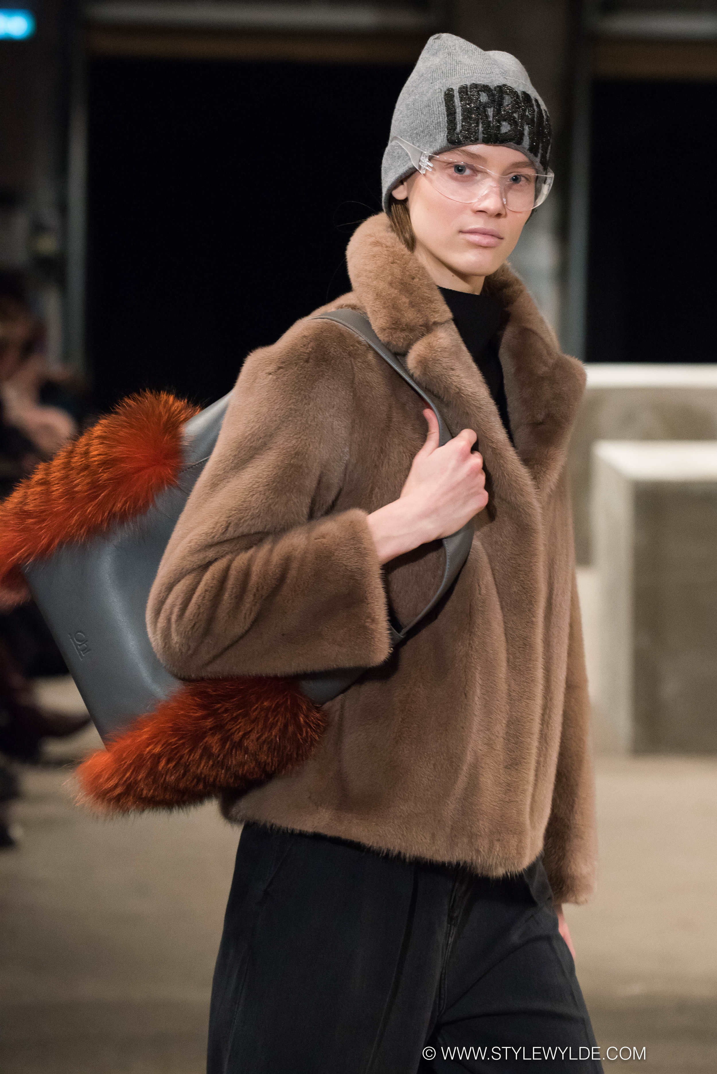 Accessory to style - Choosing to show their Accessory line, Oh! by Kopenhagen Fur, before their full runway show during Copenhagen Fashion week, the Kopenhagen Fur team demonstrated the versatility of their craft.