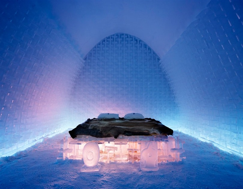 Photo credit: The Ice Hotel