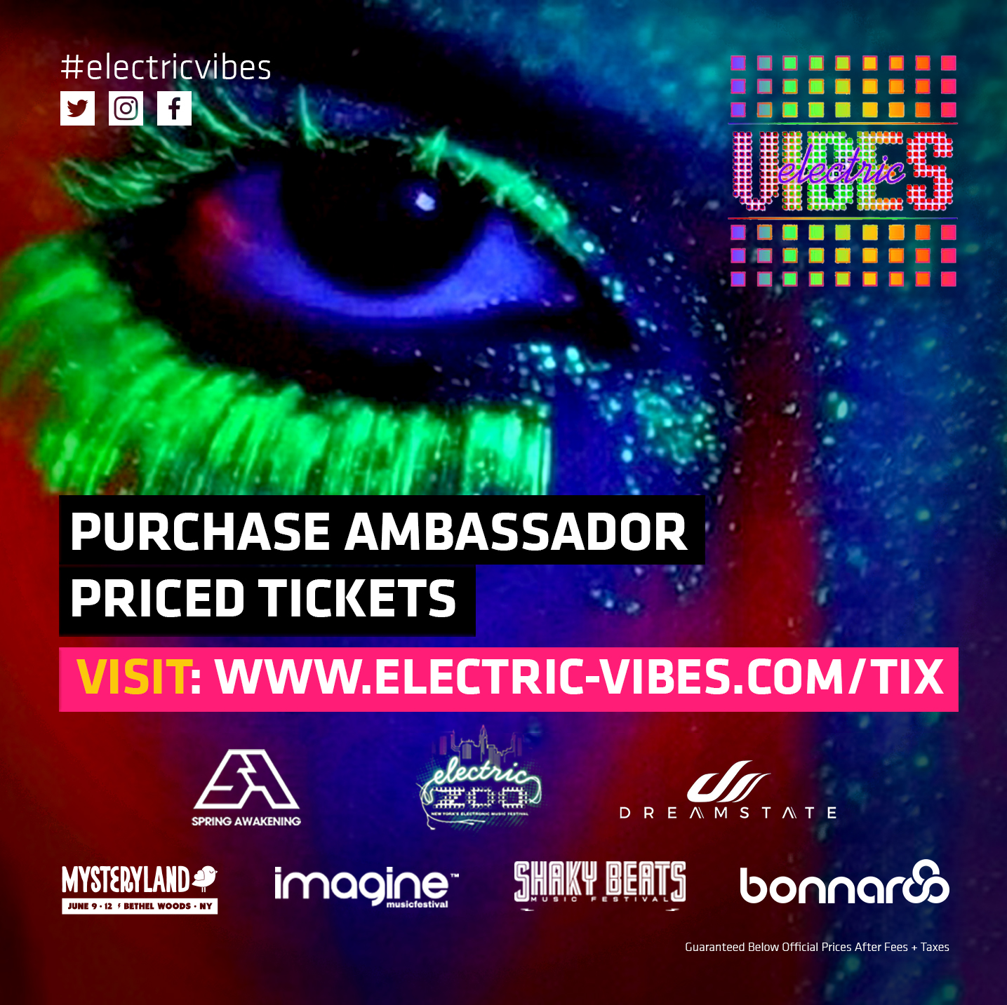 Tickets: www.Electric-Vibes.com/samf