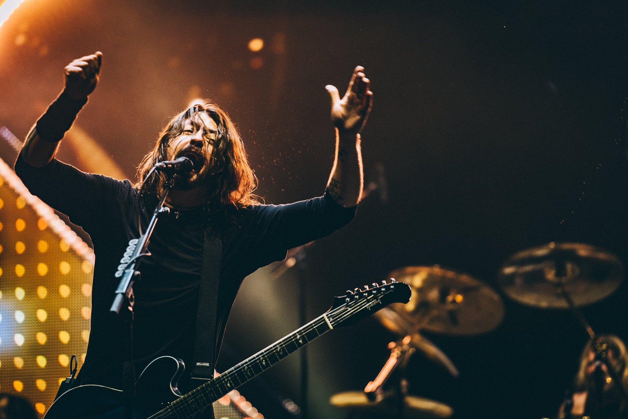 Foo Fighters photo by  Charles Reagan Studios