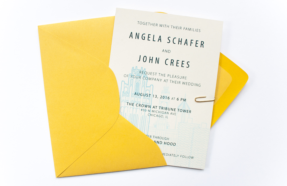 Angela & John   |  design and screen printing