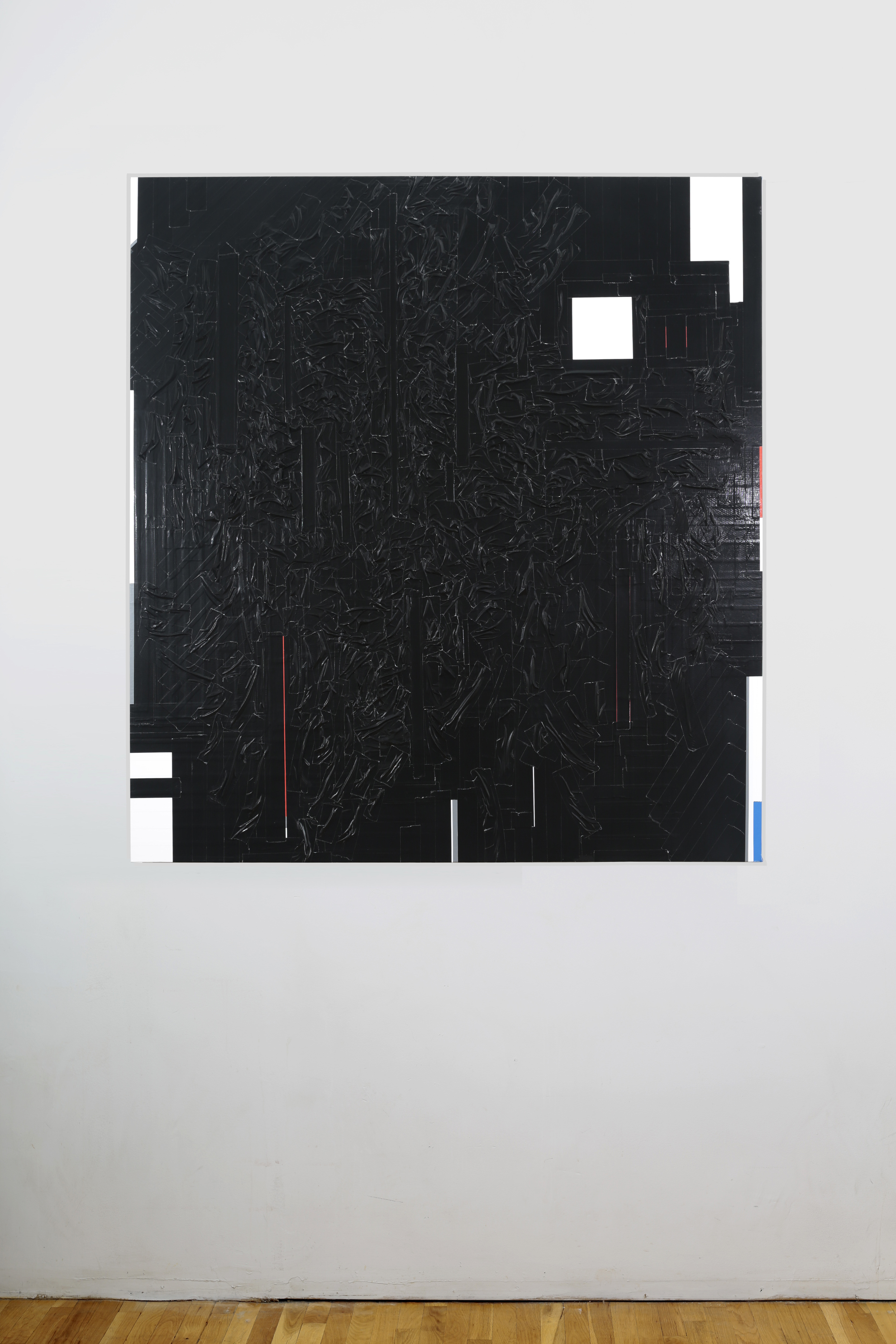 Duct Tape Painting (Black)