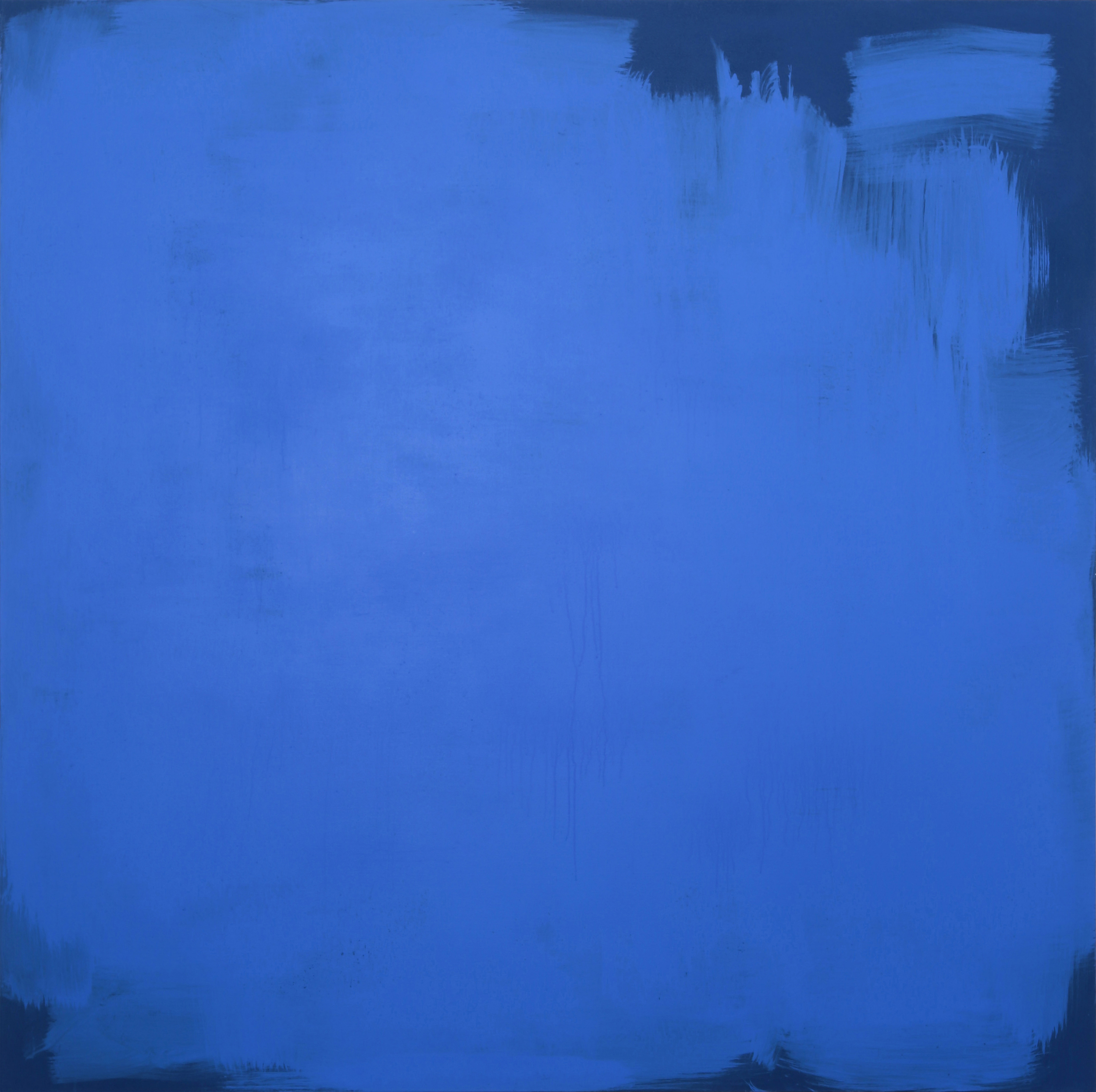 Construction Wall (Blue), 2013