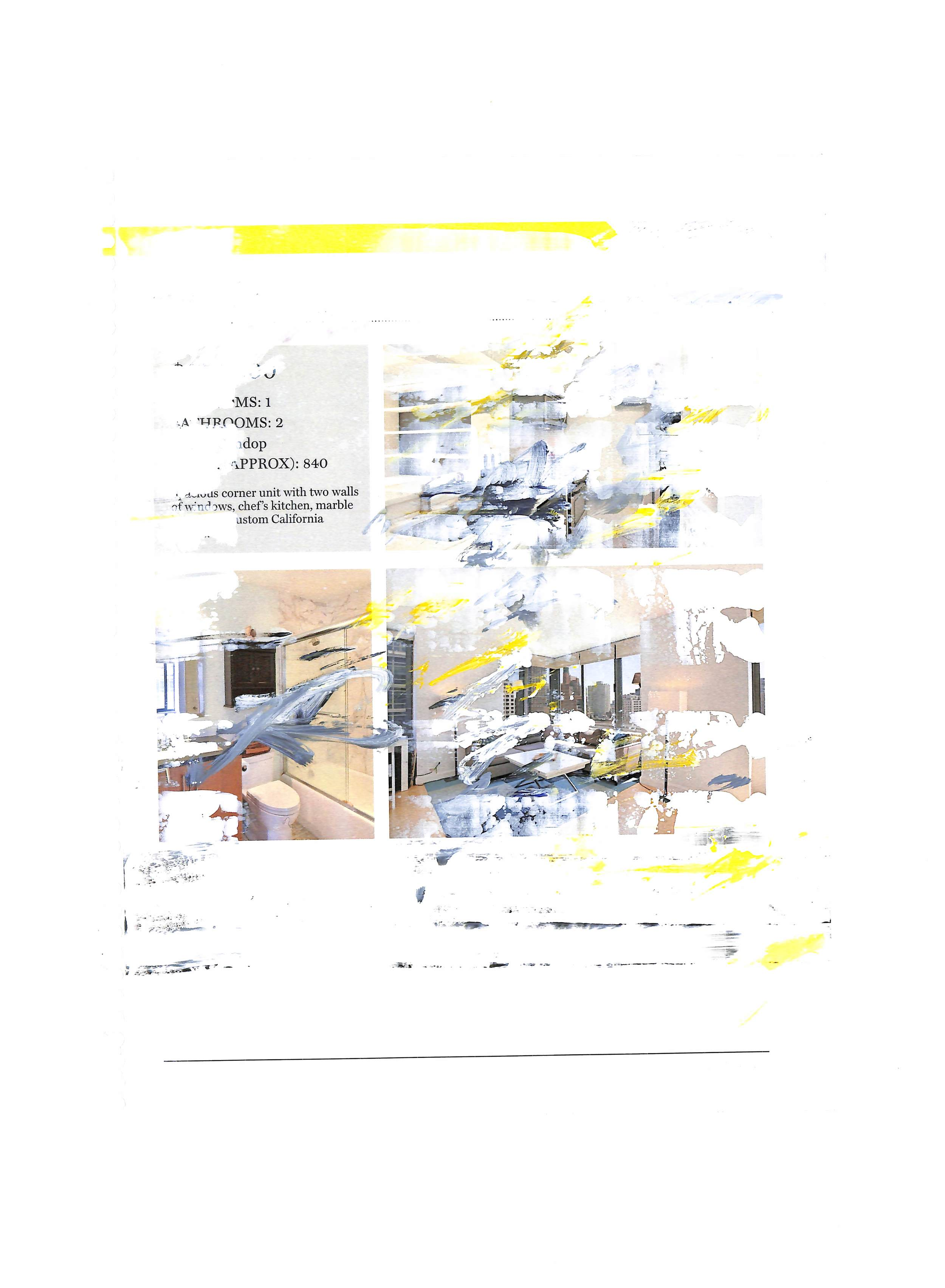 Untitled (Listing 7), 2015