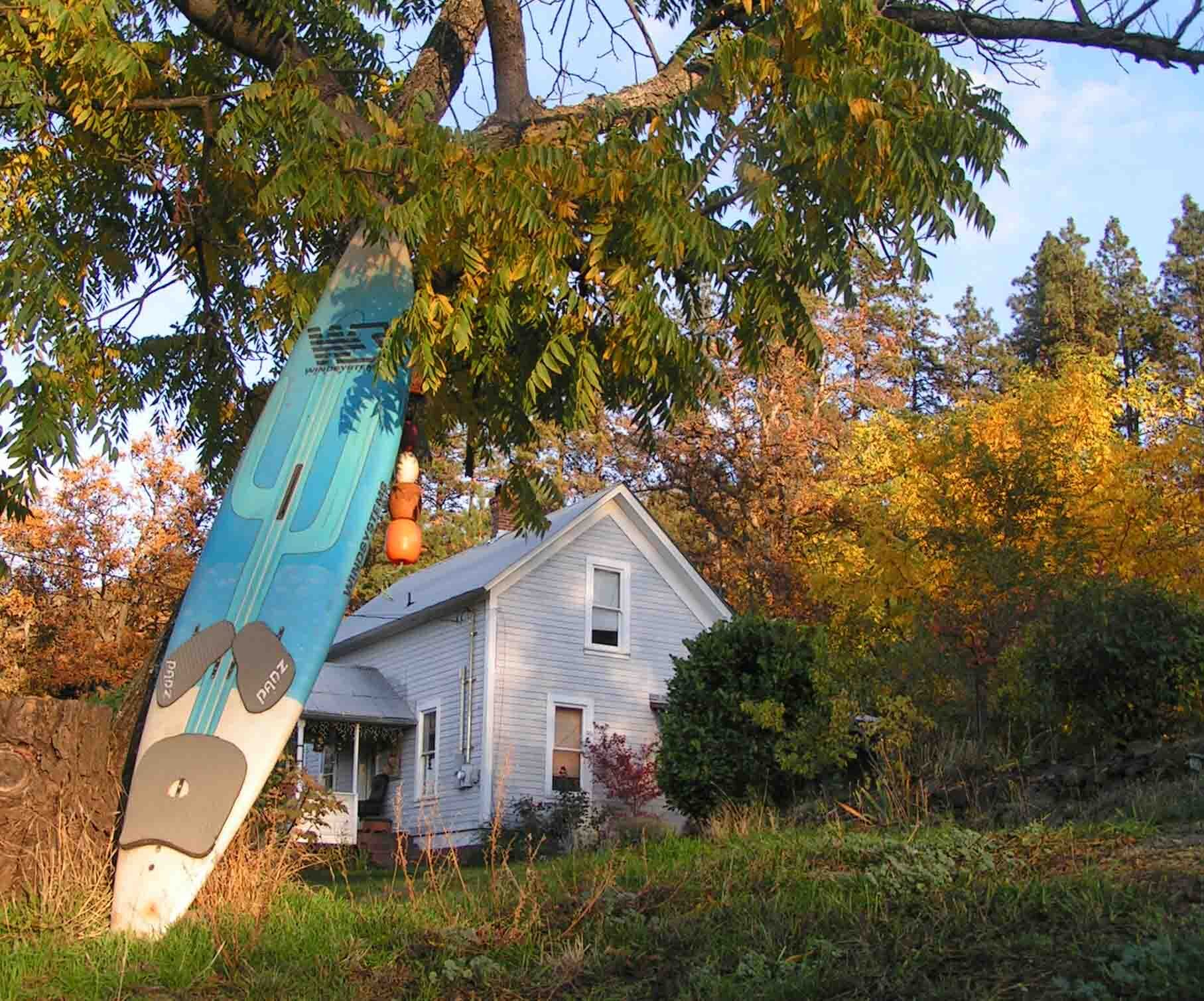 Our house. Photo: (c) Barb Ayers, DogDiary.org