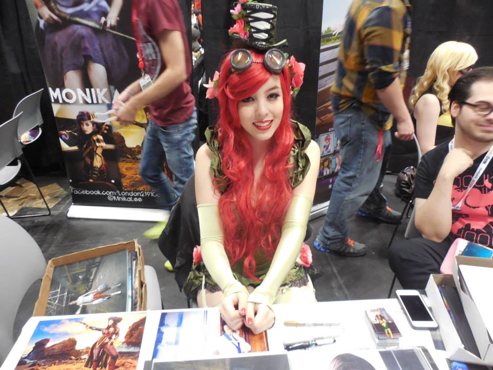 New York Comic Con in 2013.