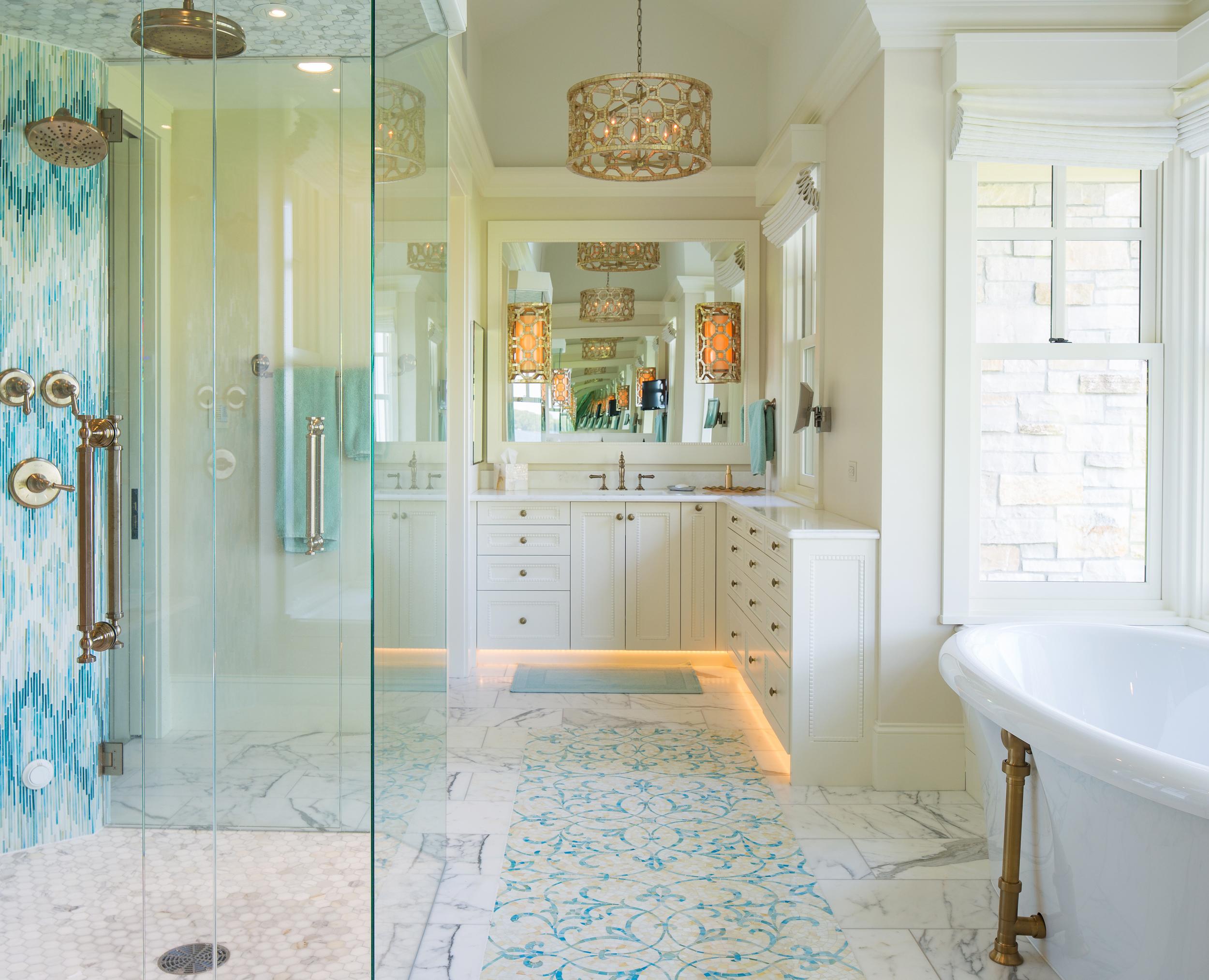 Lakeside Luxury Dream Bathroom Houzz