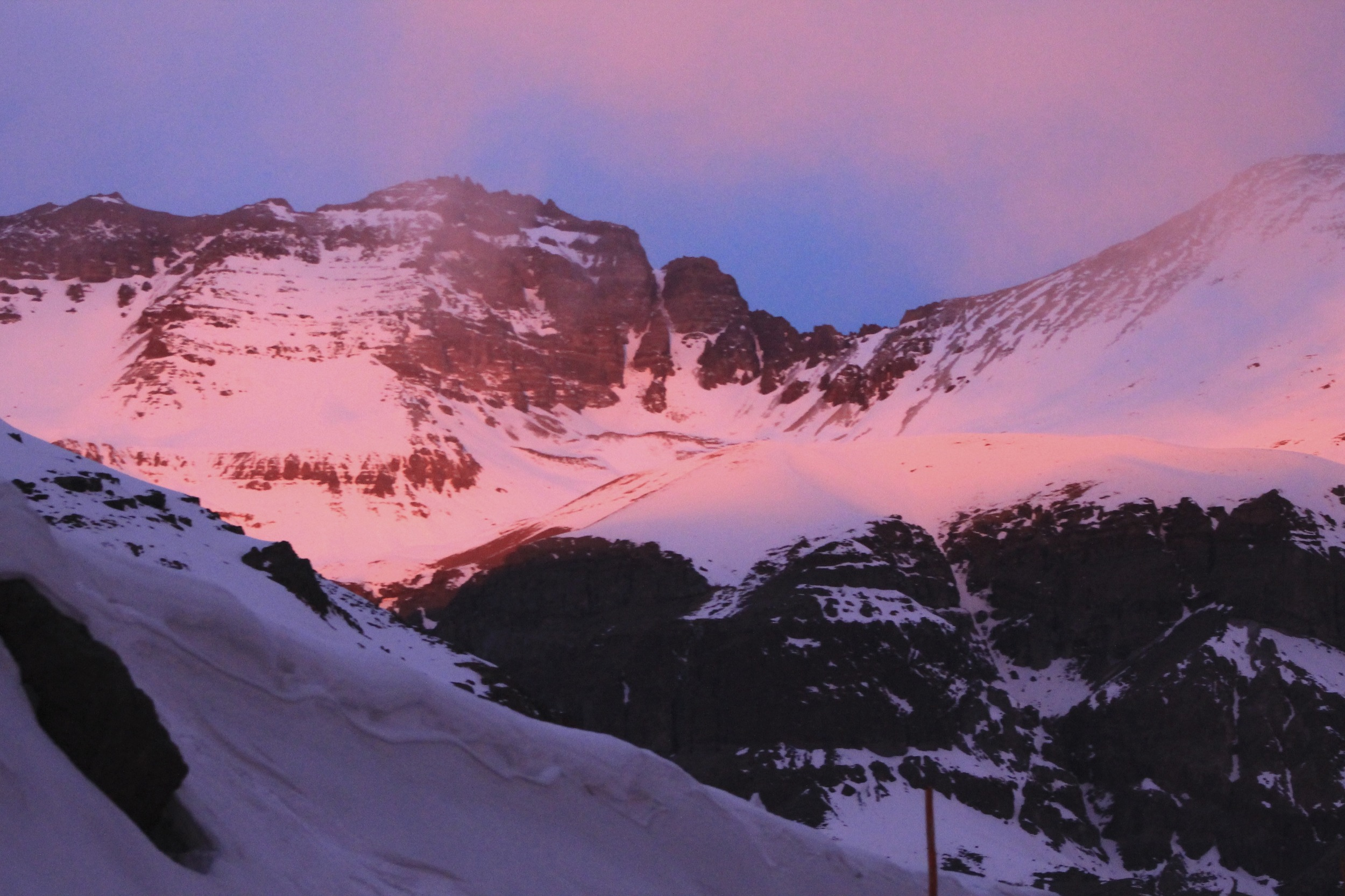 Nothing like an Andes sunset