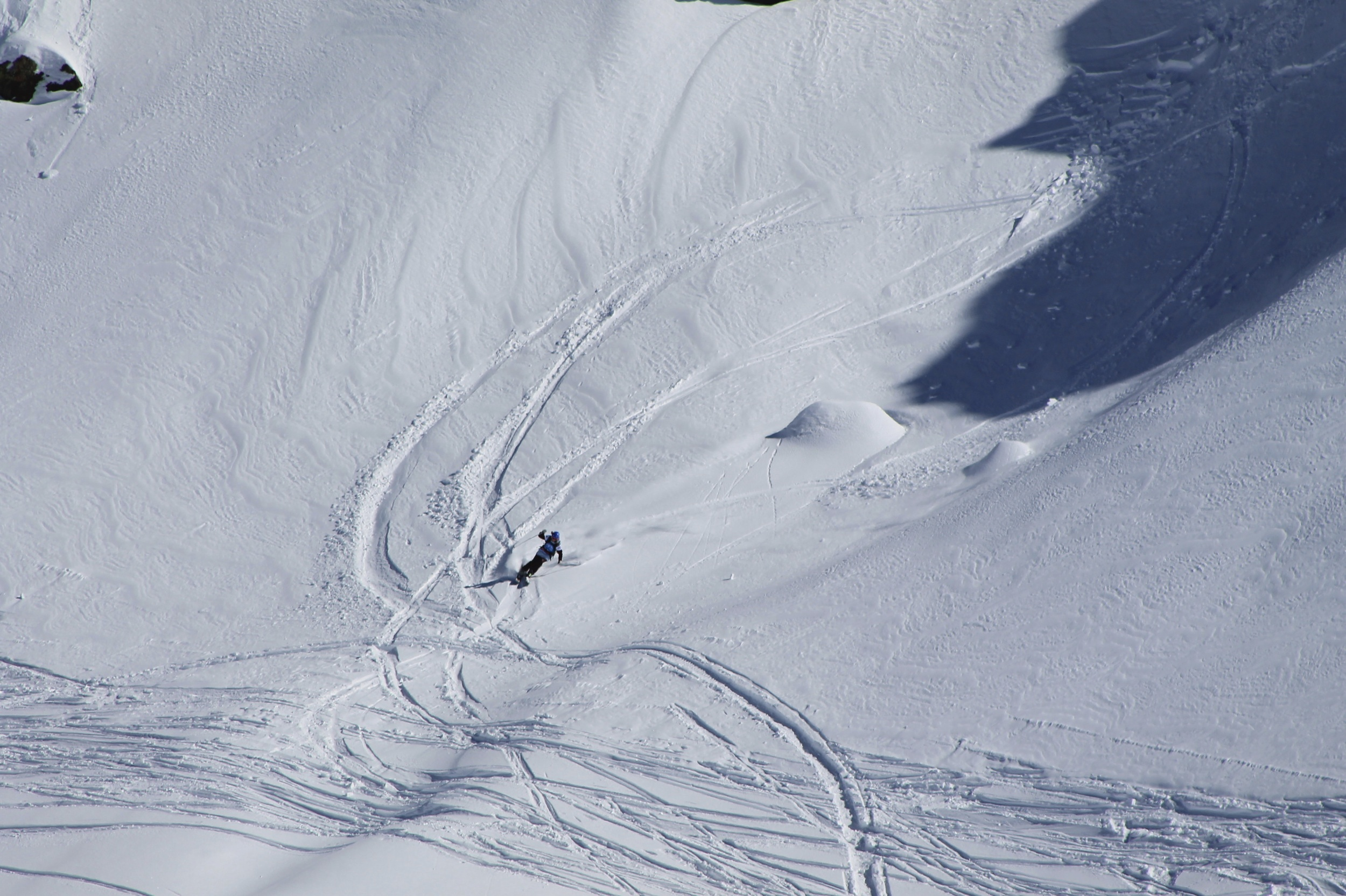Can't complain though when you get to ski pow!