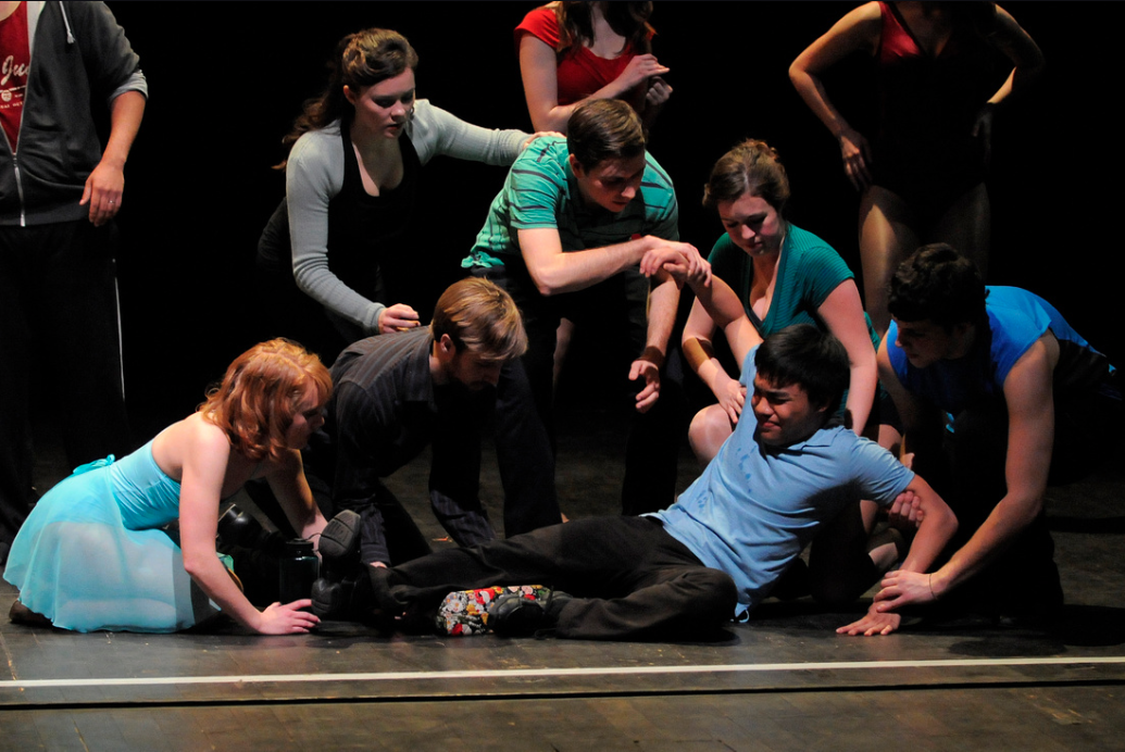 Photo Credit: Dirk Nelson   A Chorus Line - St. Olaf College
