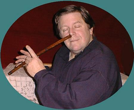 Let the nose flute just flow through you, man. Photo credit:  Oliver Neeler