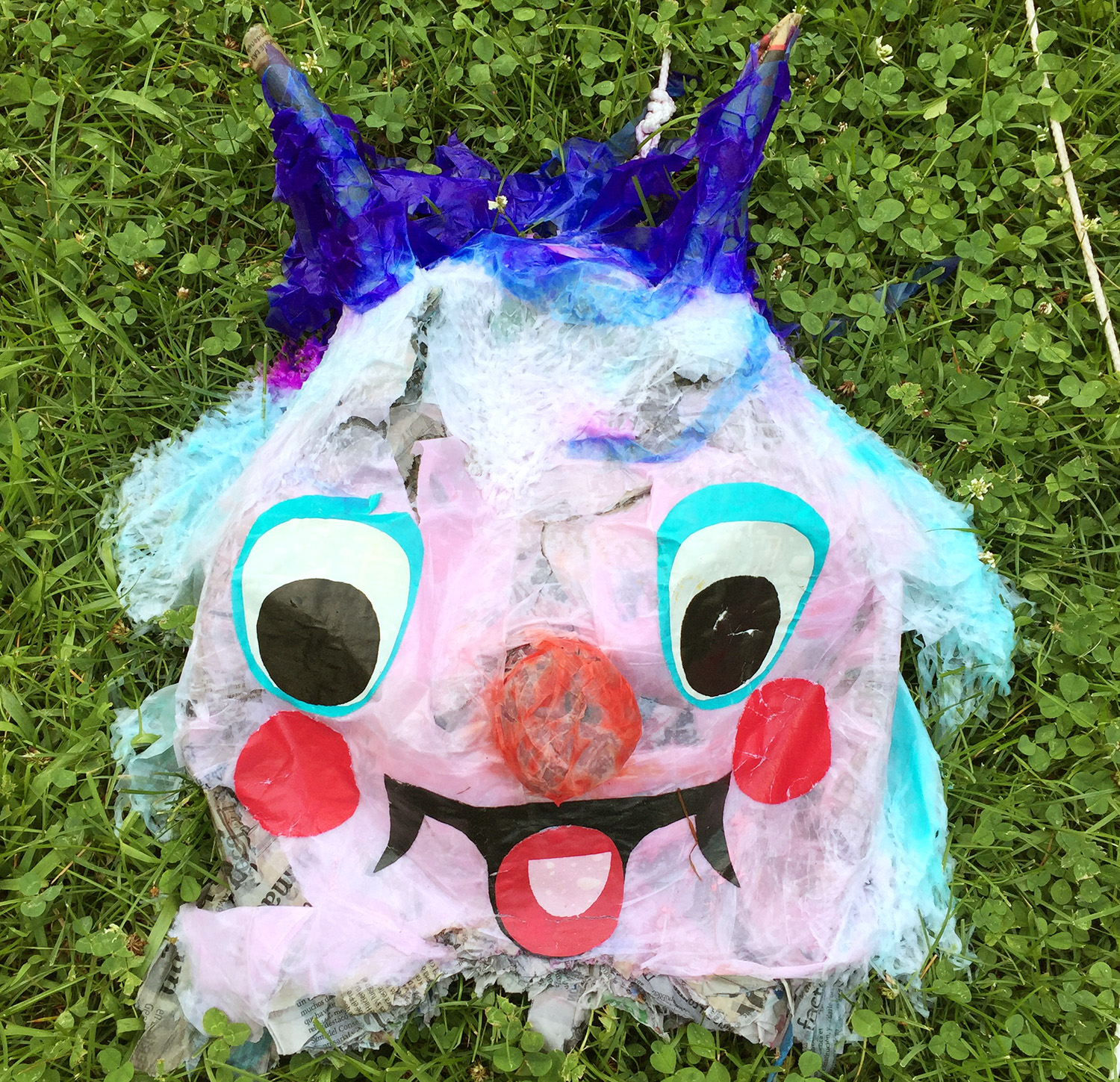 Scary Pinata Face