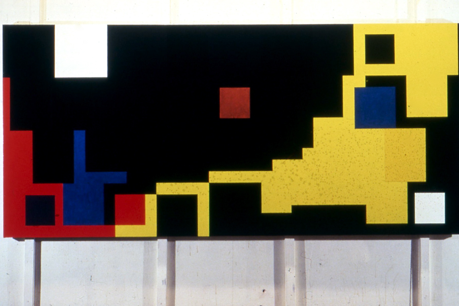 """Eastern Front, 1978, oil on canvas, 56""""x121"""""""