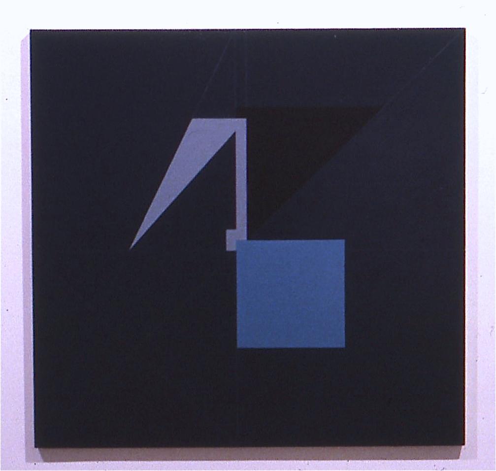 "Luna, 1982, oil on canvas, 38""x40"""