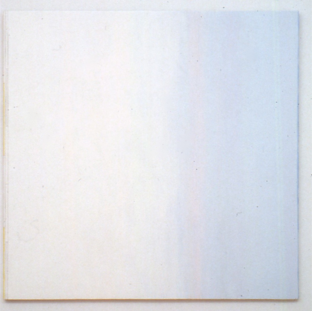 "Almost Nothing, 1994, oil on panel, 31 7/8""x31 7/8"""