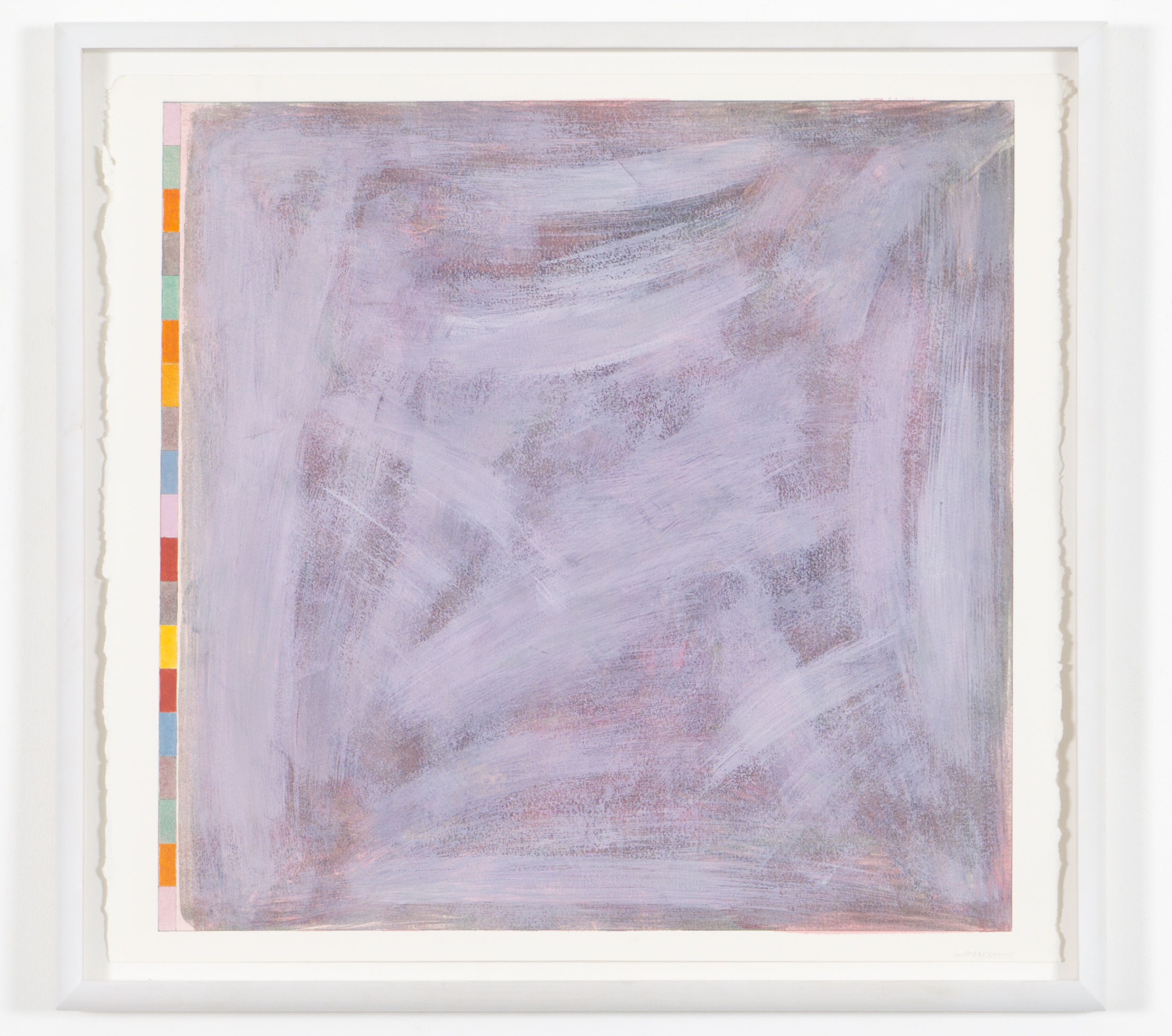 """Untitled (PG21), 2002, gouache on paper, 20 3/16""""x20 3/4"""" (image), 23 5/8""""x23 3/8"""" (paper)"""