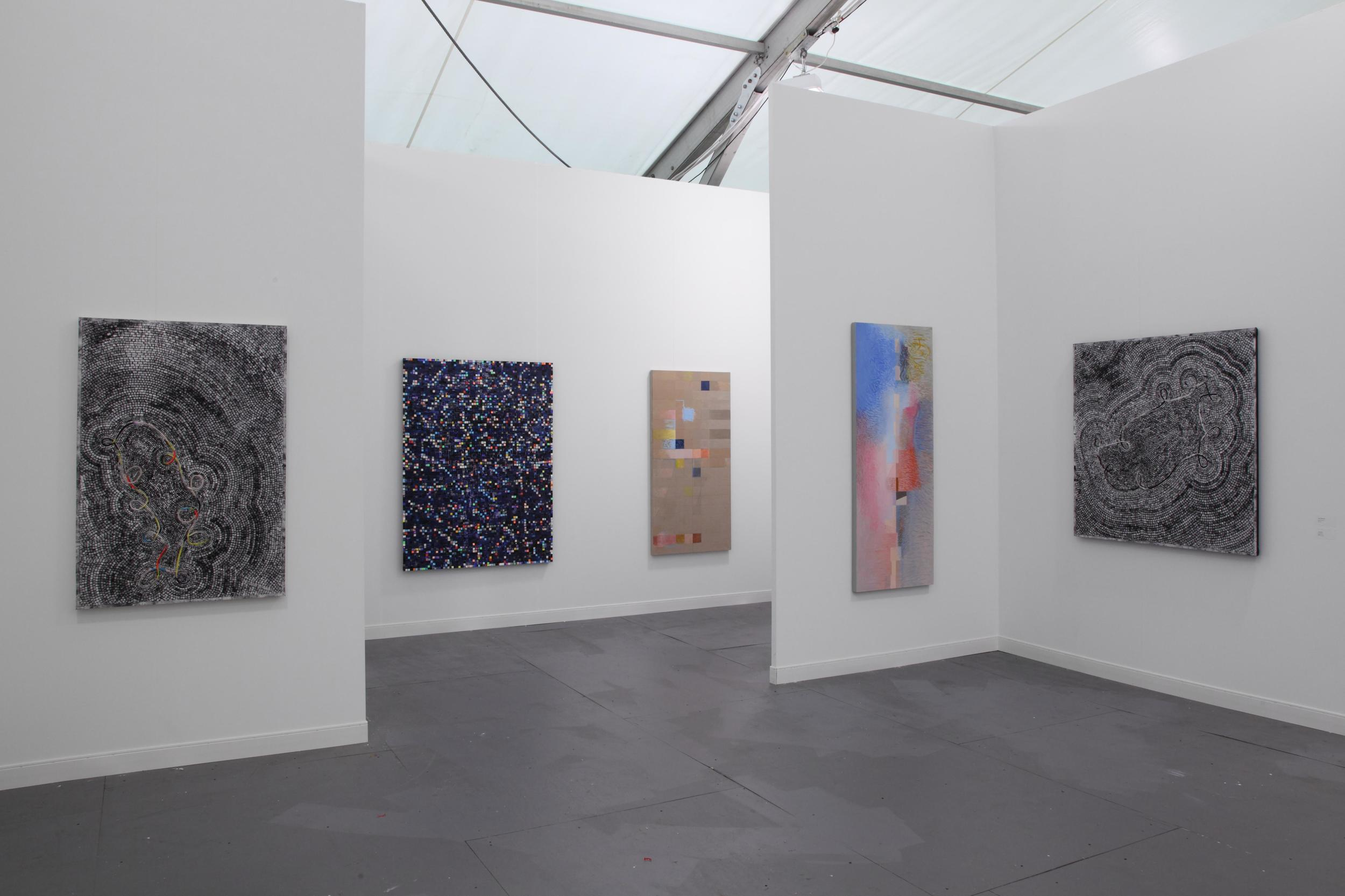 2012: Jeremy Gilbert-Rolfe and Jack Whitten at Frieze, New York