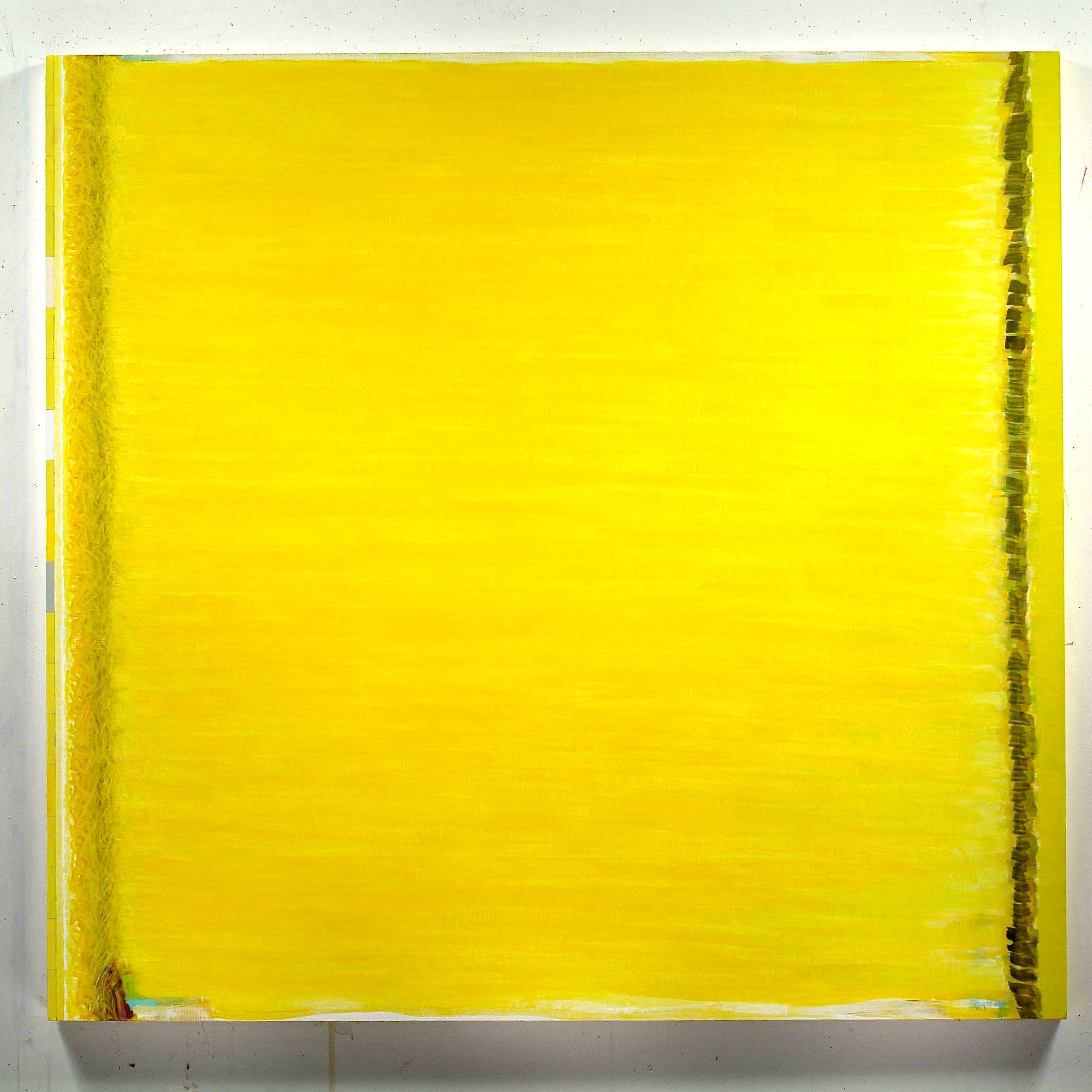 """Impassivity with Space for Movement, 2001, oil on linen, 66 1/2""""x70""""x2"""""""