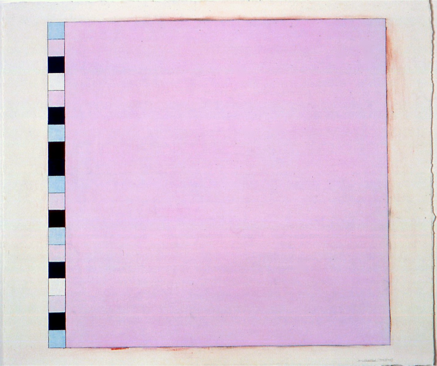 """Untitled (PG2), 2002, gouache on paper, 20 3/16""""x21 3/8""""(image), 22 3/4""""x26 3/8"""" (paper)"""