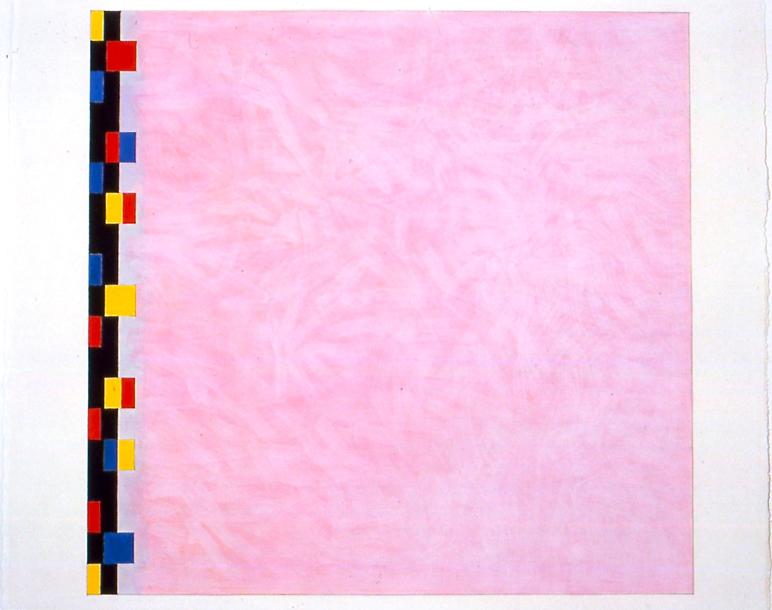"""Untitled (PG5), 2002, gouache on paper, 21 3/16""""x22 1/2"""" (image), 23""""x29""""(paper)"""