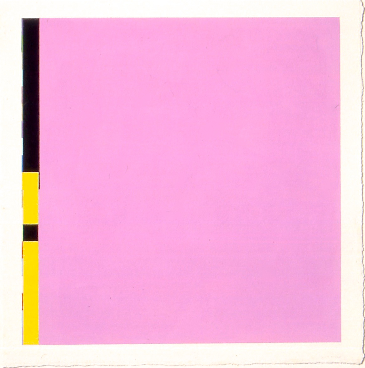 """Untitled (PG13), 2002, gouache and watercolour on paper, 20 3/16""""x20 3/16"""" (image), 22 3/4""""x22 3/4"""" (paper)"""