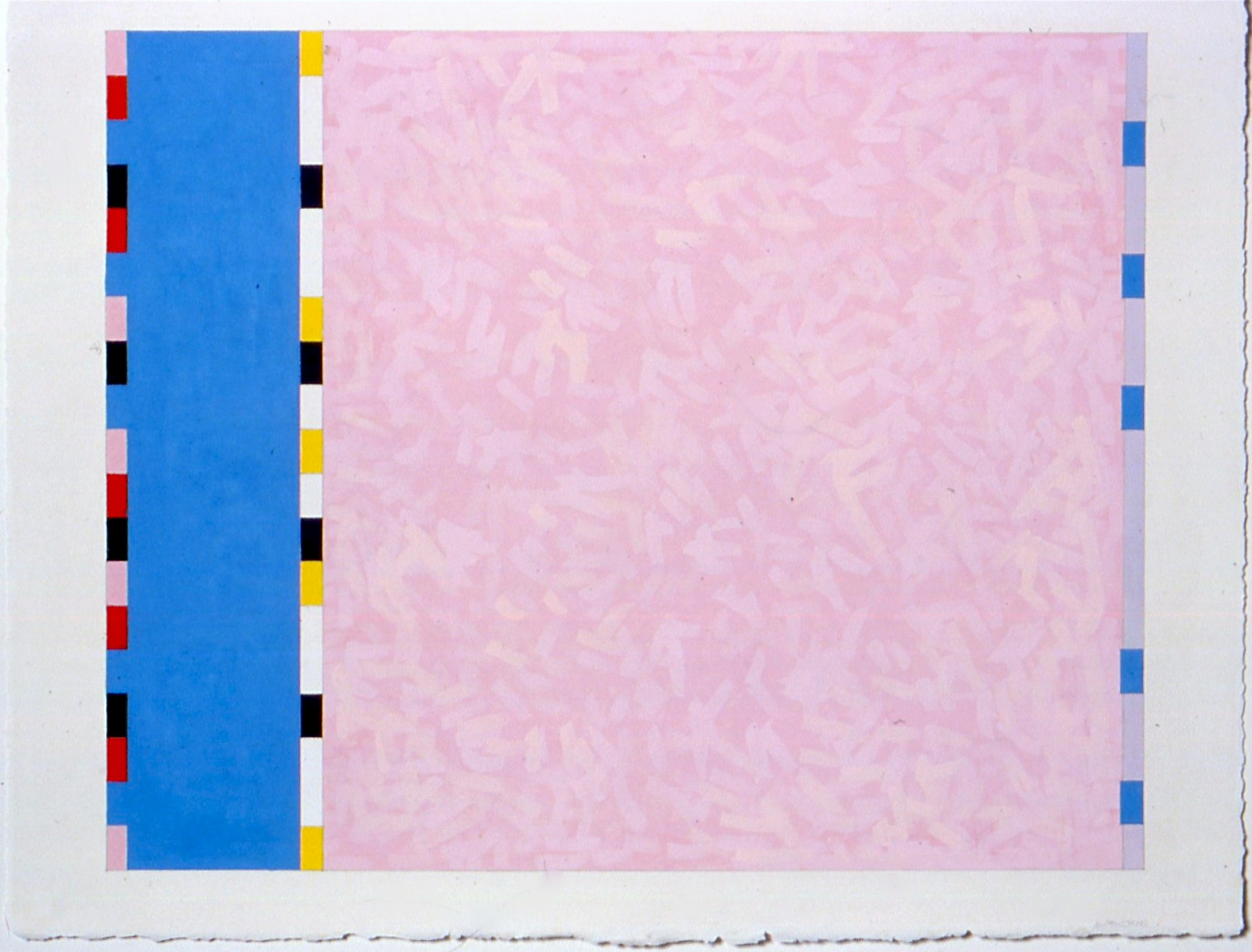 """Untitled (PG20), 2002, gouache and watercolour on paper, 20 3/16""""x25 1/2""""(image), 23""""x30 1/2"""" (paper)"""