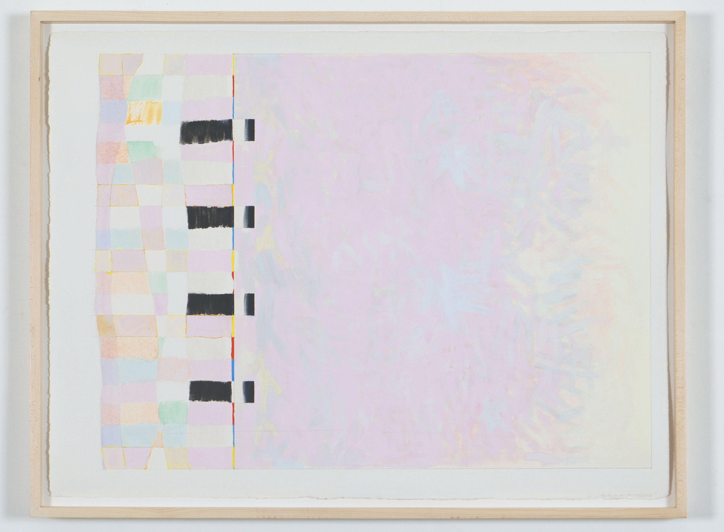 """Untitled... Red Desert etc.II (PG23), 2002, gouache on paper, 20 3/16""""x26 5/8"""" (image), 22 5/8""""x30"""" (paper)"""