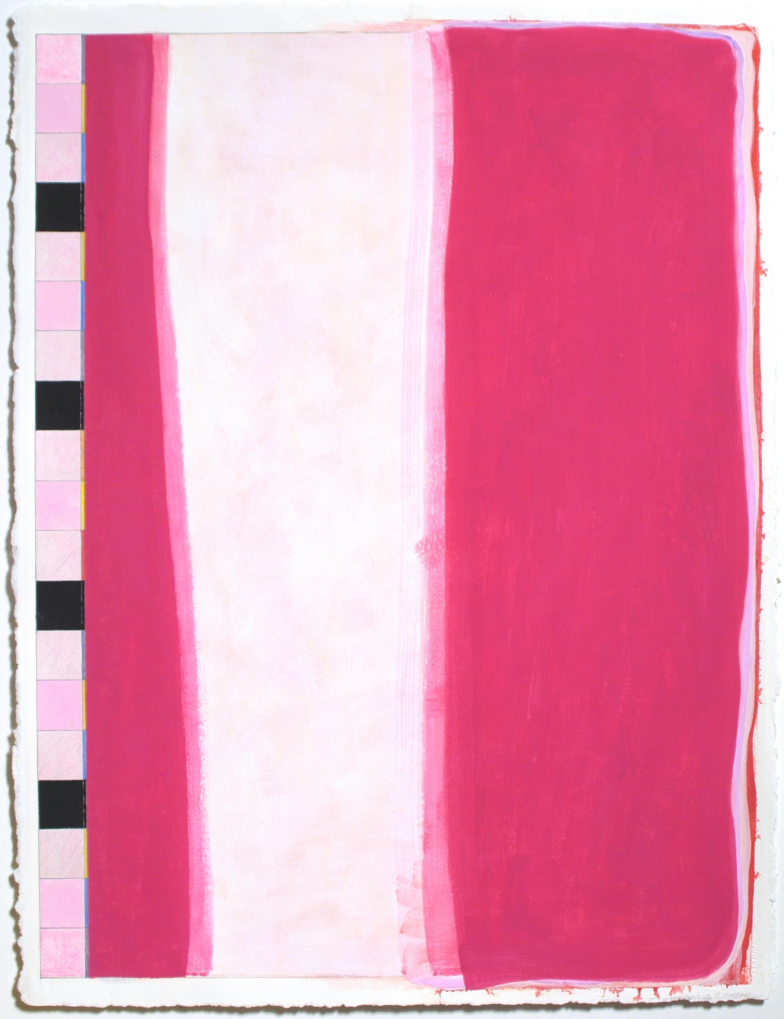 "Untitled... Red Desert, etc. VI (PG29), 2003, gouache on paper, 28""x21"" (image), 20 3/8""x23"" (paper)"