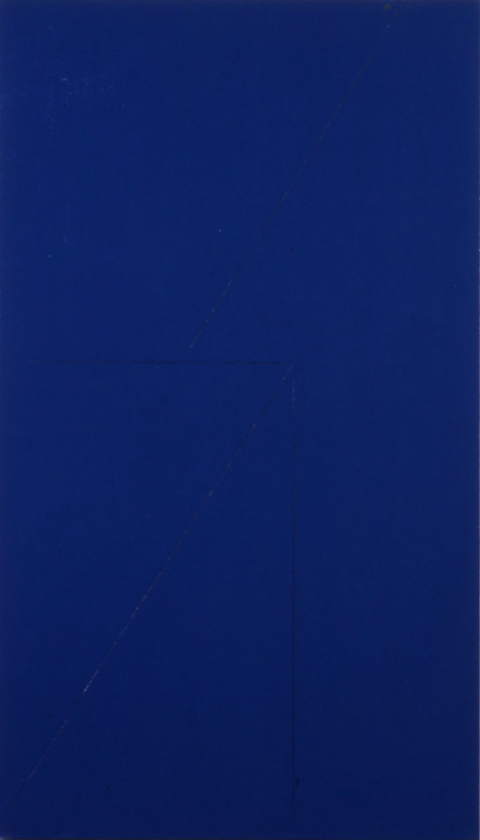 "Untitled, 1980. oil on canvas. 46""x26"""