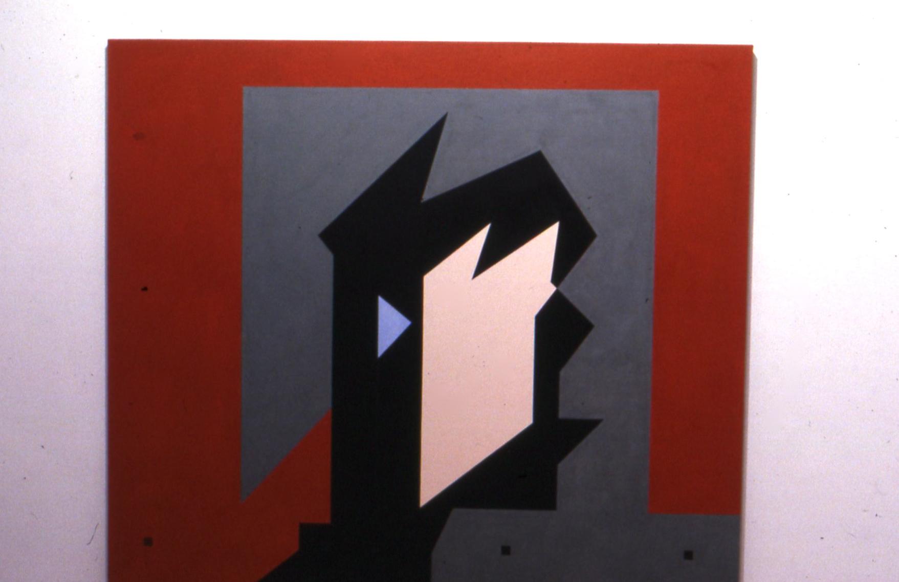 "Miton, 1982. oil on linen. 60""x70"""