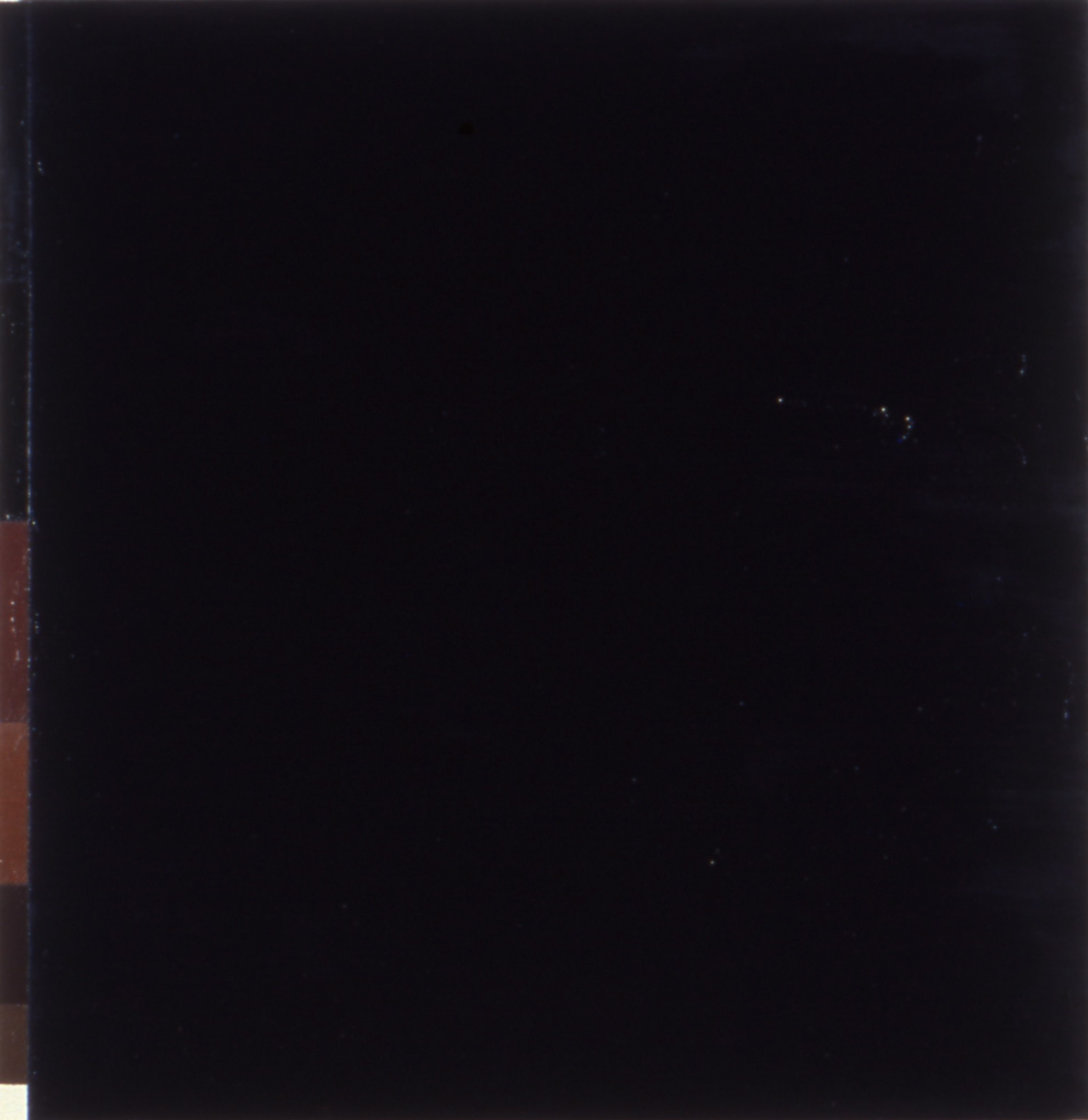 "Melancholy is a Concept, 1987. oil on linen. 28""x""28"""