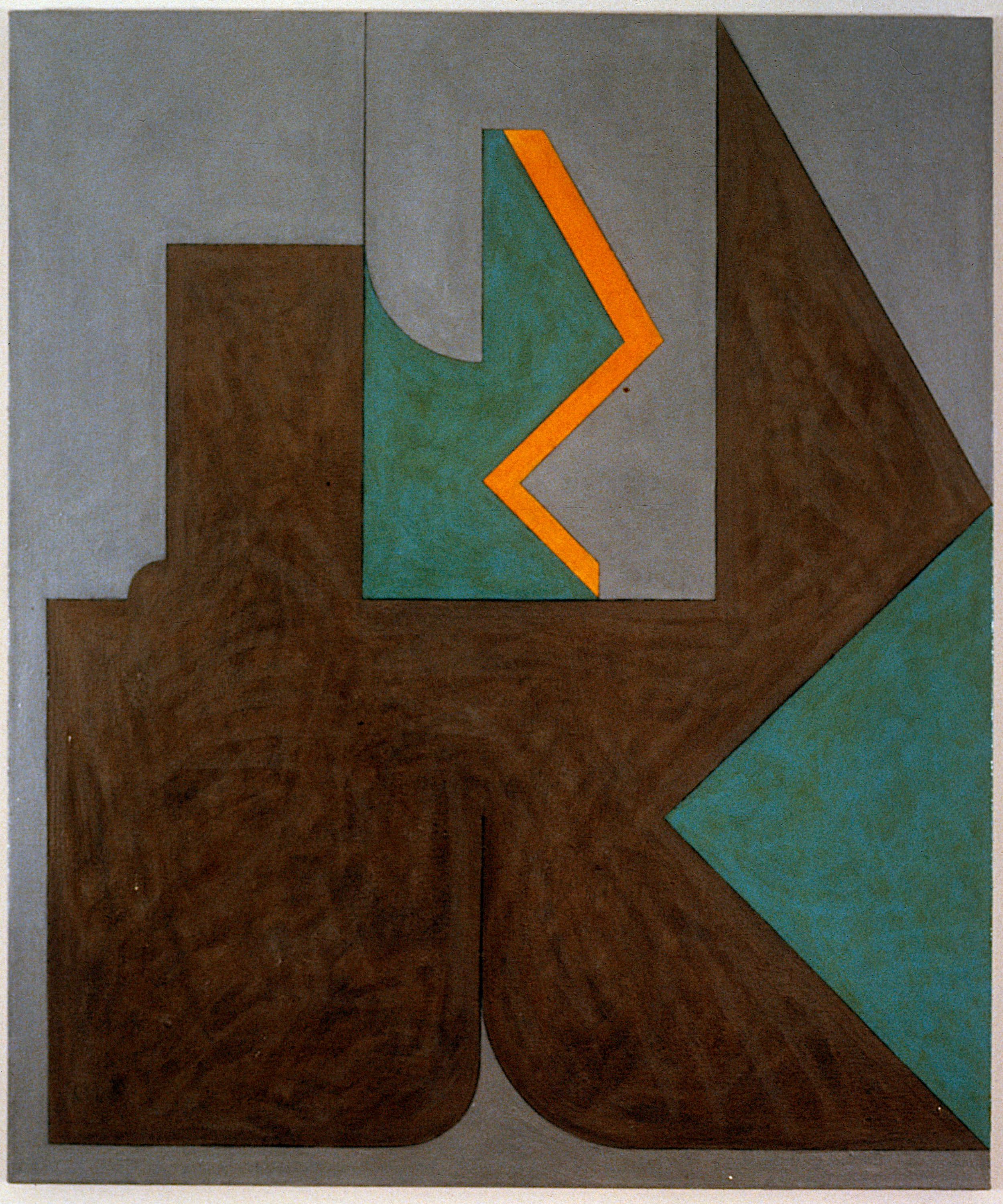 "Untitled, 1980. oil on canvas. 45""x37.5"""