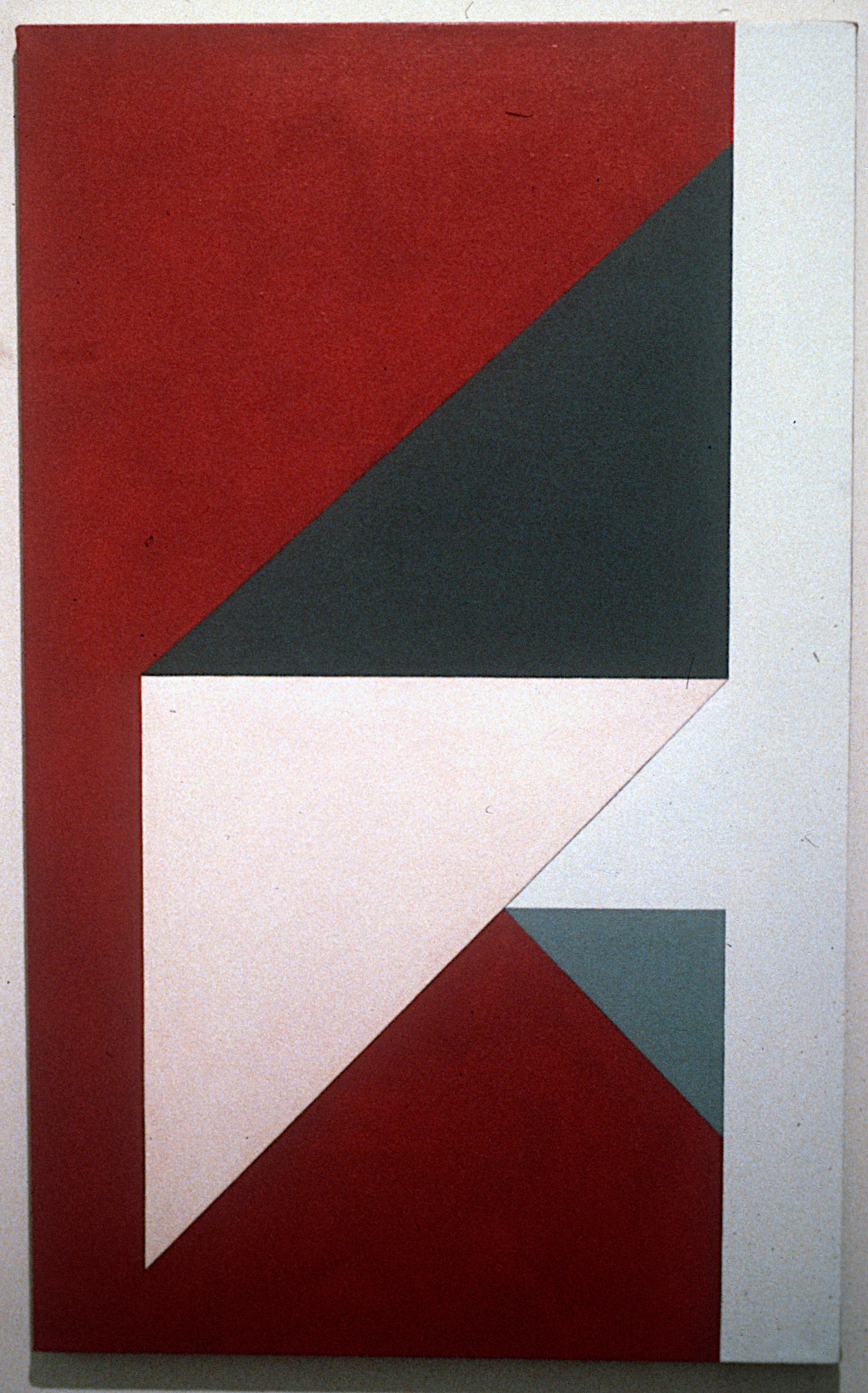 "Untitled, 1982. oil on canvas, 46""x28"""