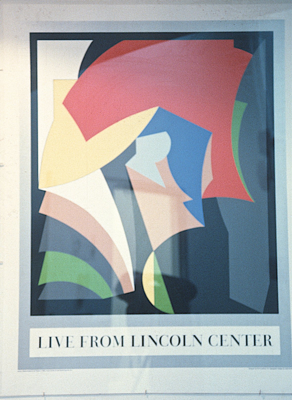 Poster- Live from Lincoln Center, 1985