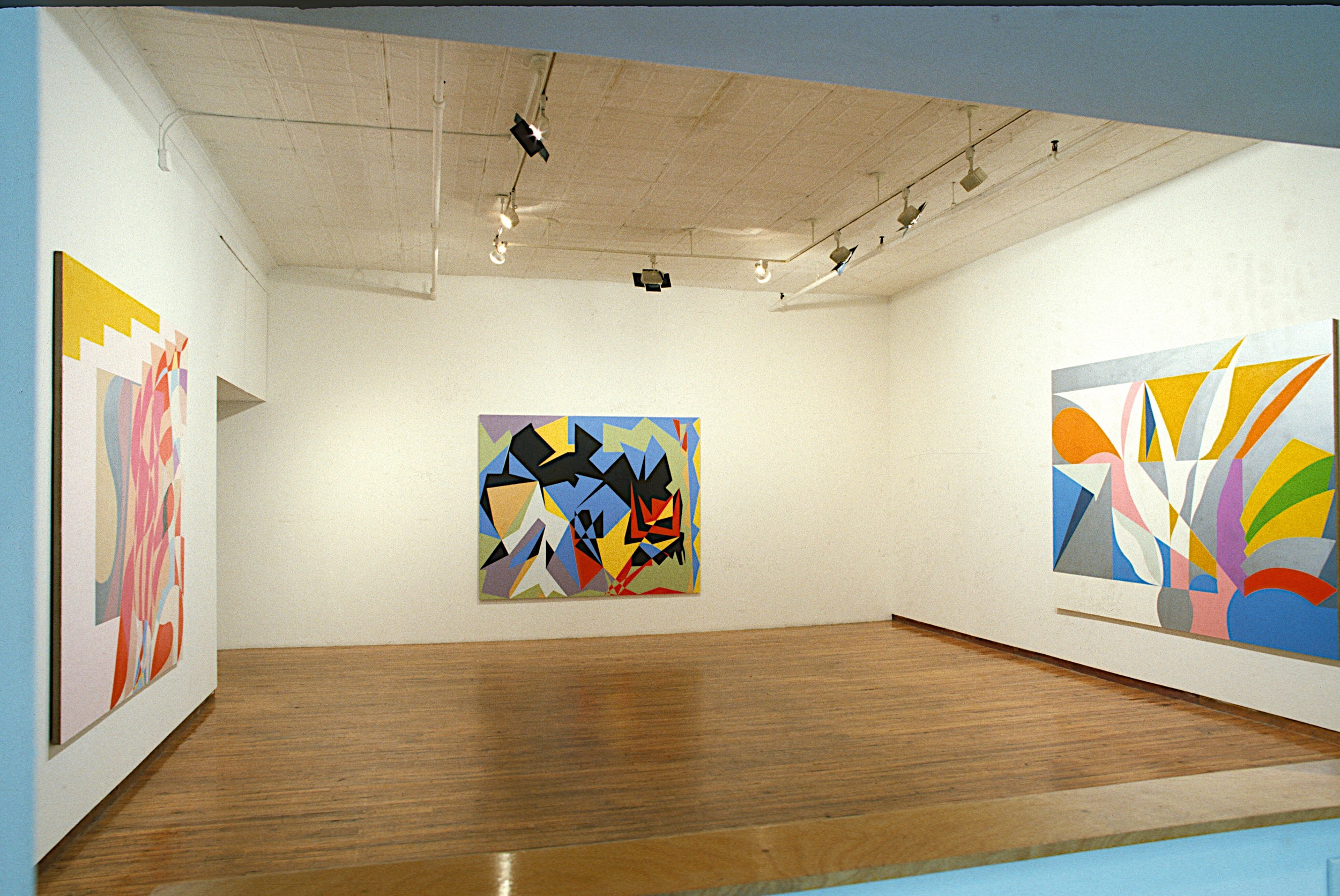 1984. John Weber Gallery, New York Installation Photo