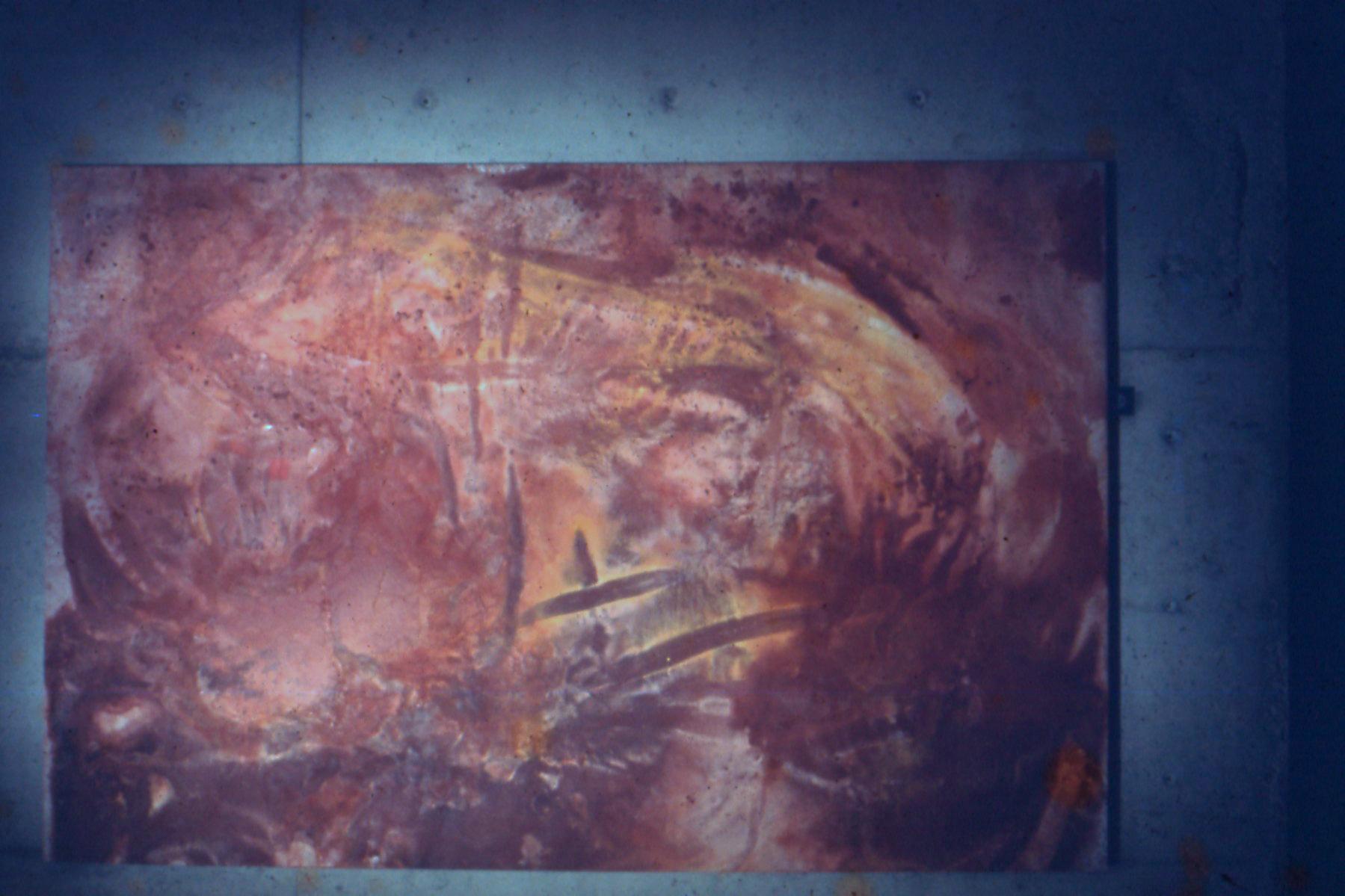 "GA8, 1970, oil on canvas, 102""x68"""