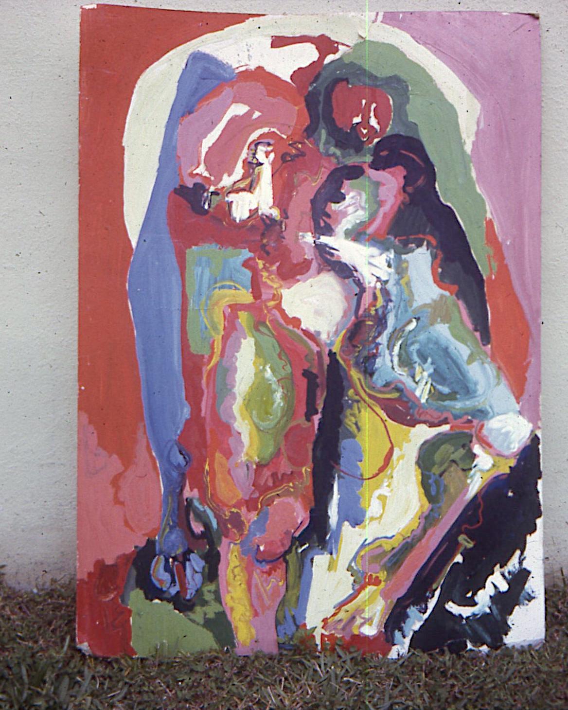 Bonnie Louie?, 1971. oil on canvas