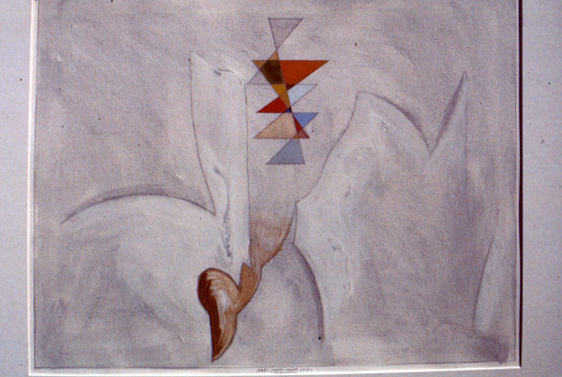 Untitled, 1985. gouache on paper