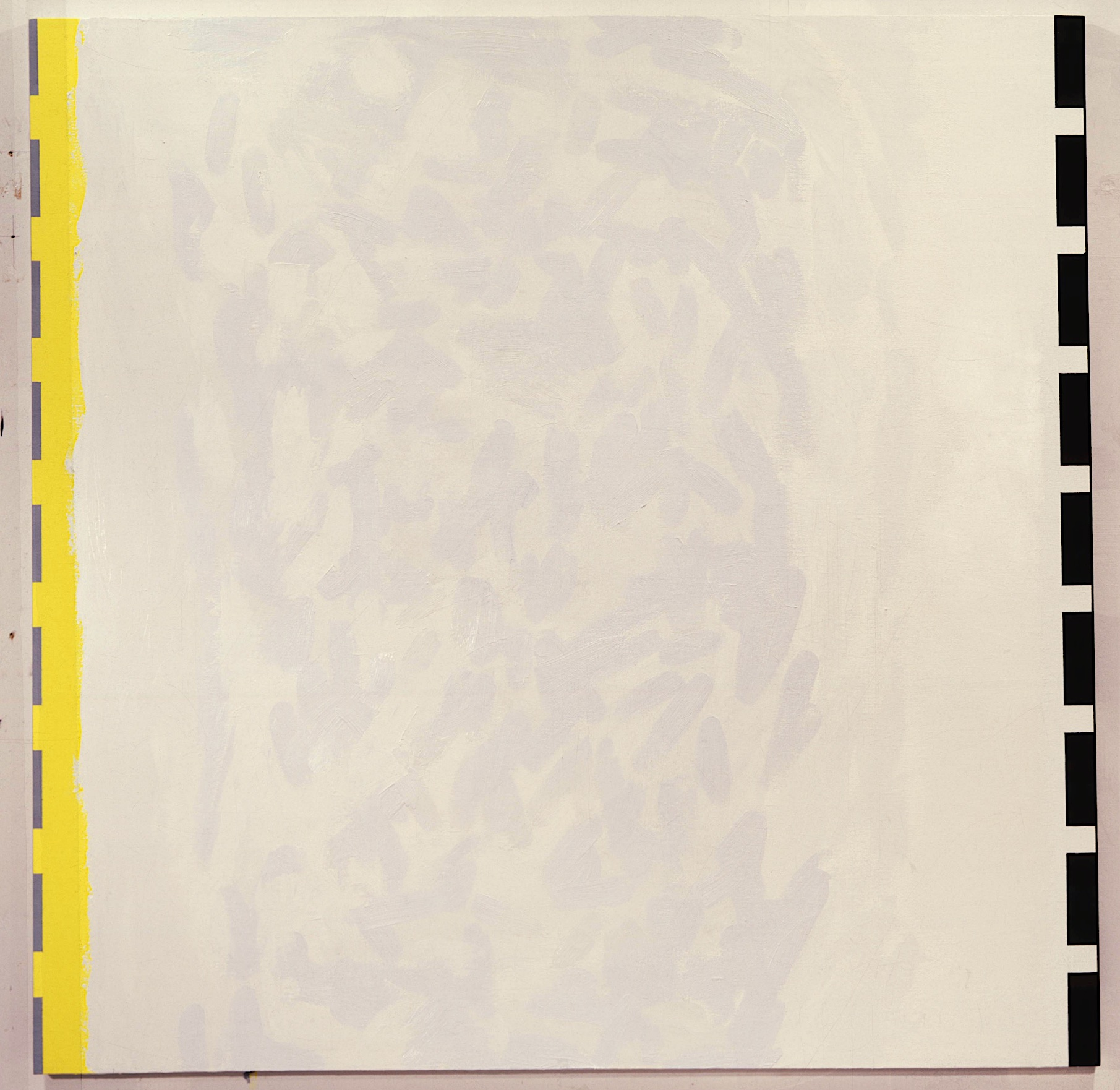 "Asiatic, 1989. oil on linen. 68""x""68"