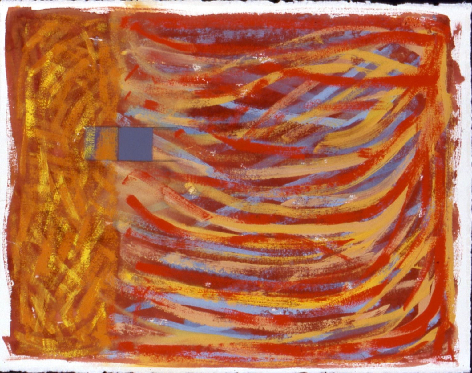 Untitled, 1997, gouache on paper