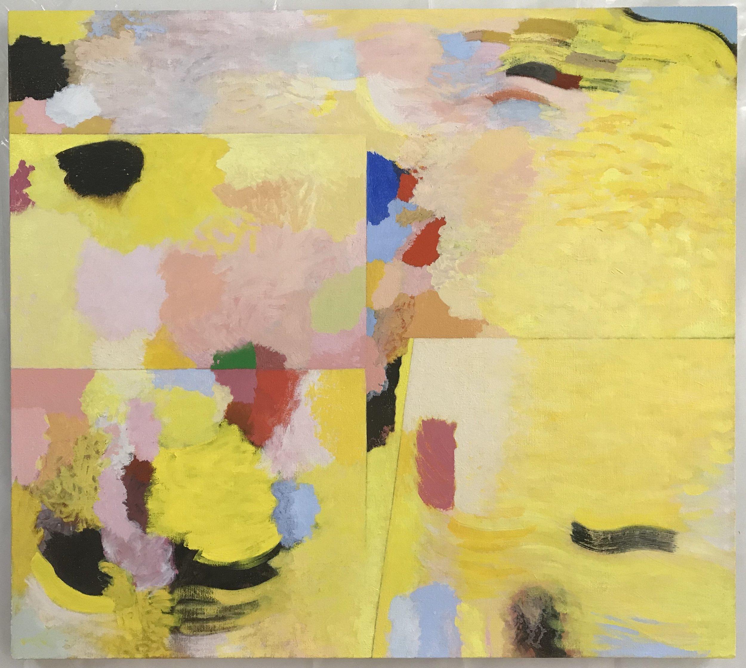 """Butterfly, 2016-17, Oil on Linen, 34.5"""" x 38"""""""