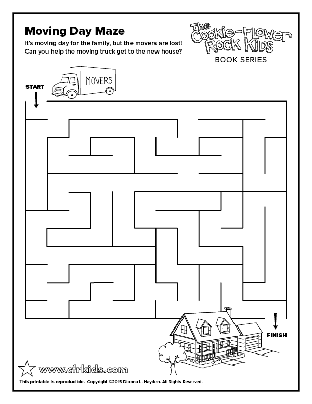 Moving Day Maze