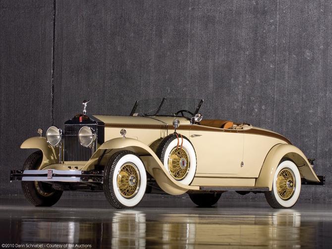 Brewster Rolls Royce Phantom Henley Roadster   1929