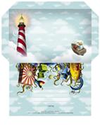 Benjamin Pillow stationery  Print and post