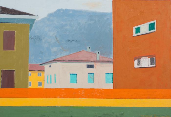 Mitchell Johnson  Serravalle (Trento) , 2009 18 x 26 inches, oil on linen