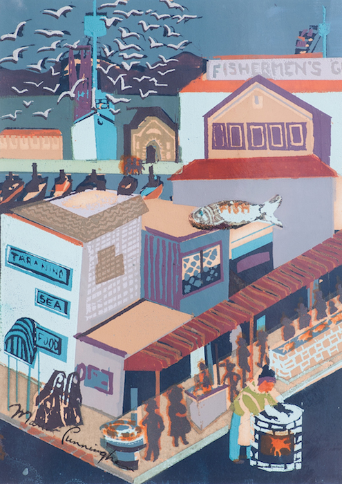 Marion Cunningham  Untitled , 1950 11 1/2 x 14 1/2, silkscreen