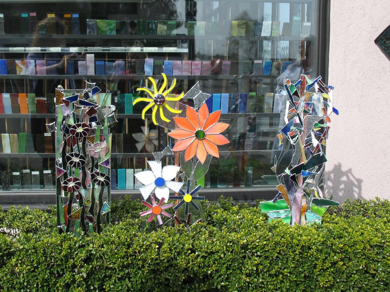 Dee, Gini & Jackie's Yard Art.jpg