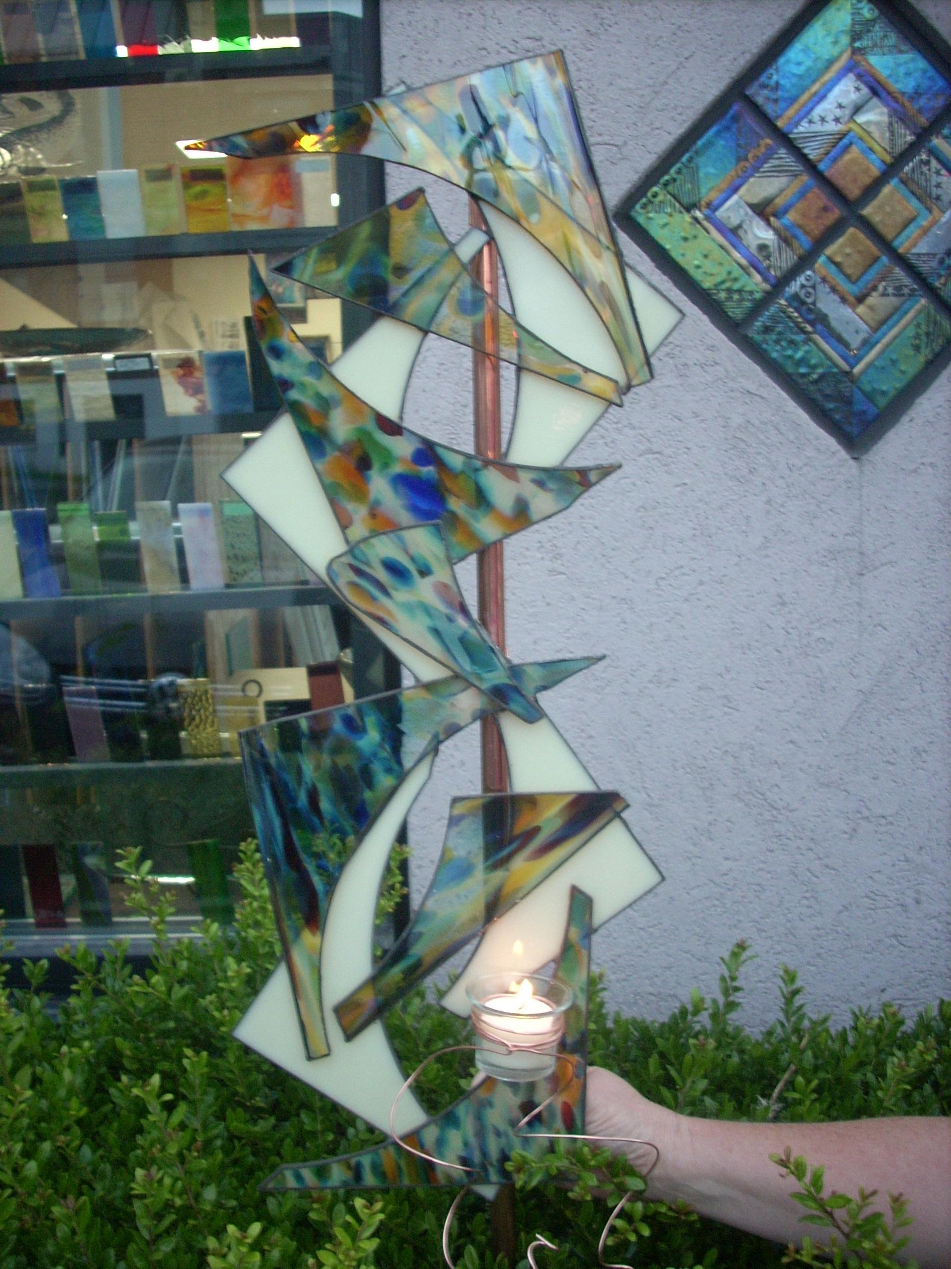 Robyn's Yard Art.JPG