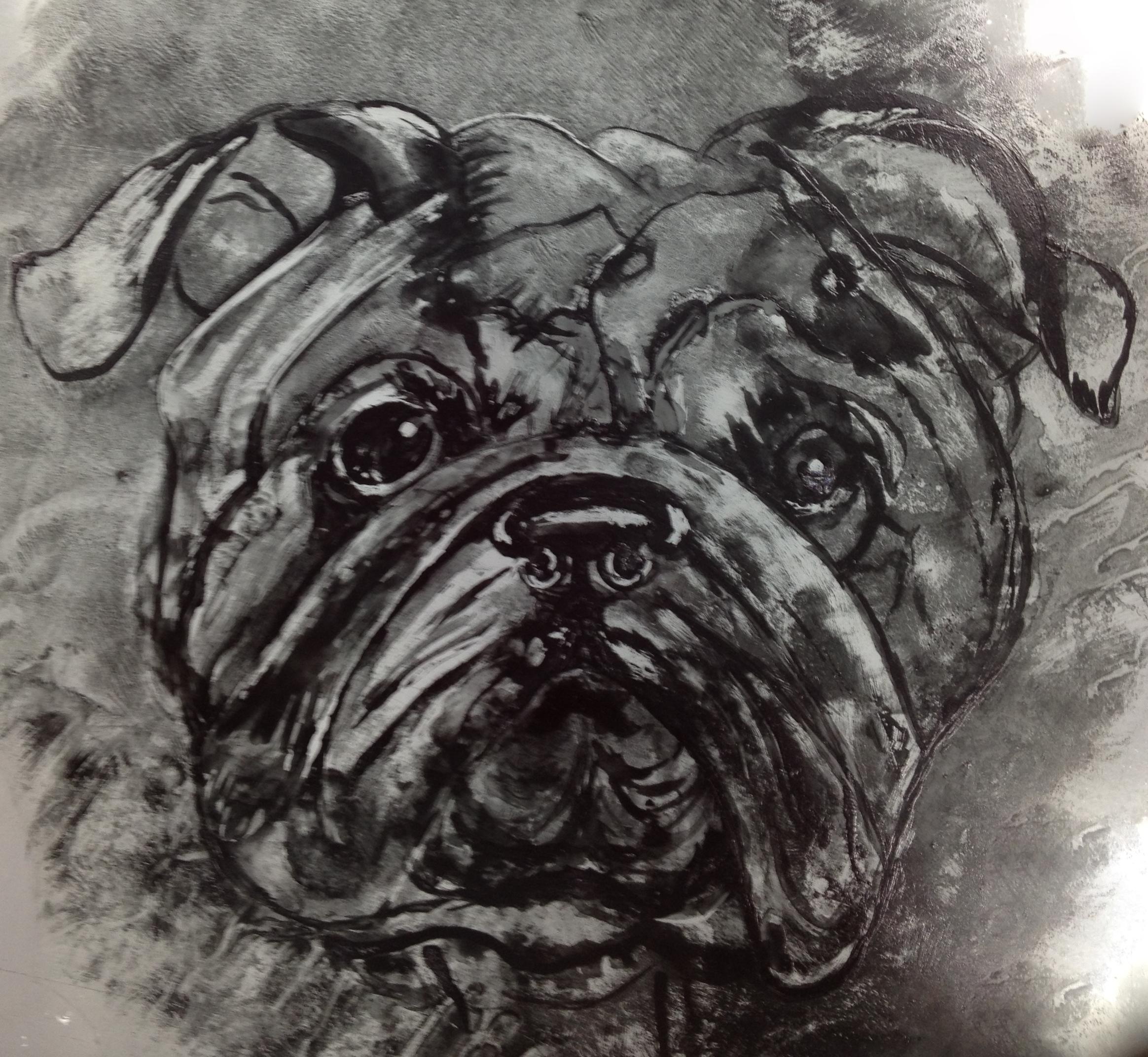 Painted Bulldog.JPG